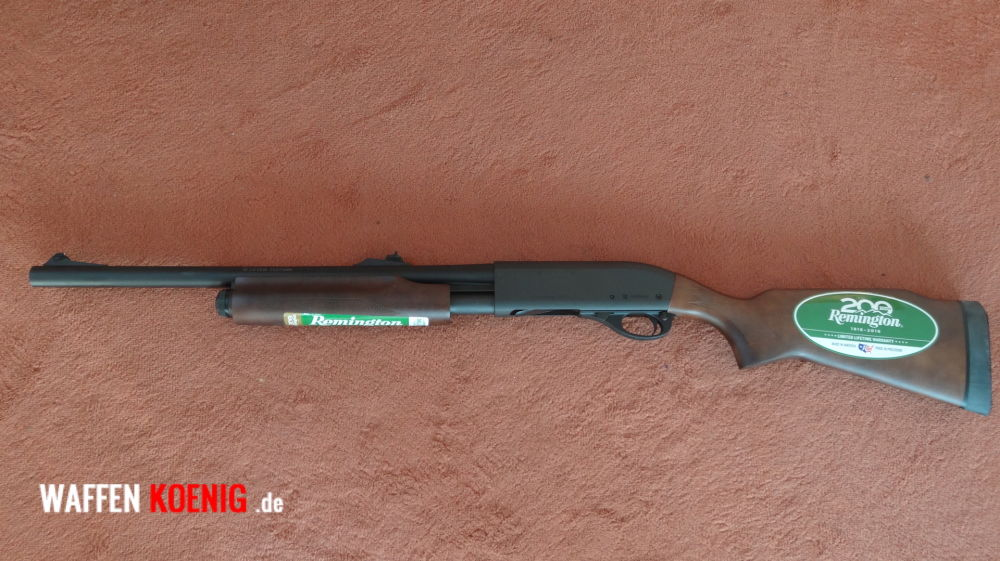 Remington Remington:Vorderschaft-Repetierbüchse Mod. 870 Express Cal. 12/76