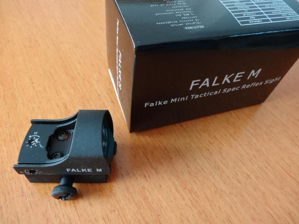 Falke Falke M-Mini-Red-Dot- Leuchtpunktvisier