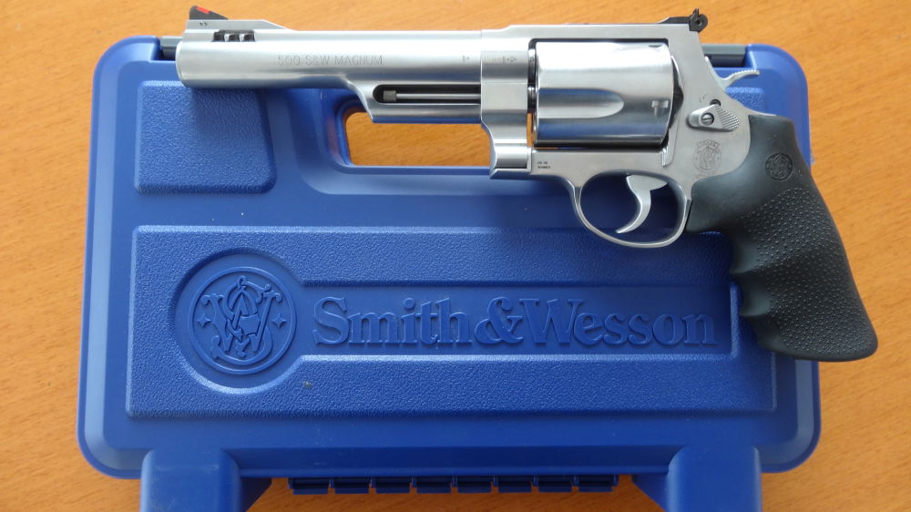 Smith & Wesson Mod. 500 S+W