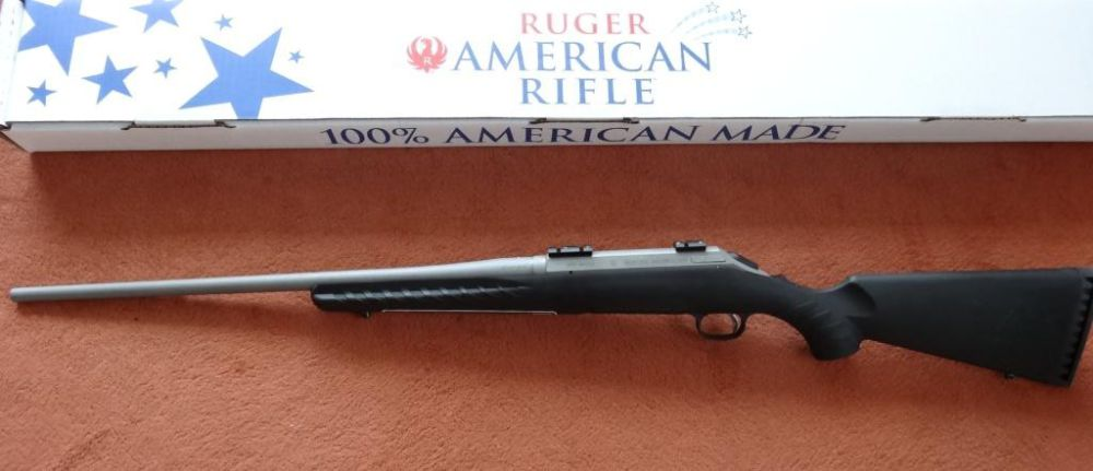 Ruger Repetier Gewehr: Ruger American Rifle Mod. All Weather in Cal. 30-06