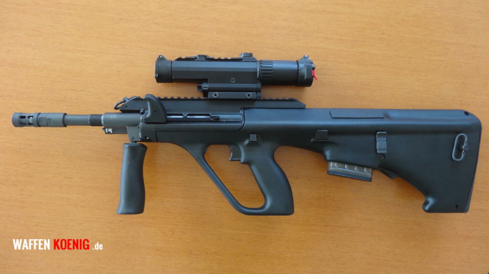 Steyr AUG Steyr AUG-Z A3 Cal. 223 Rem mit ZF Leupold Mark 4 CQ/T 1-3x14mm mit LP