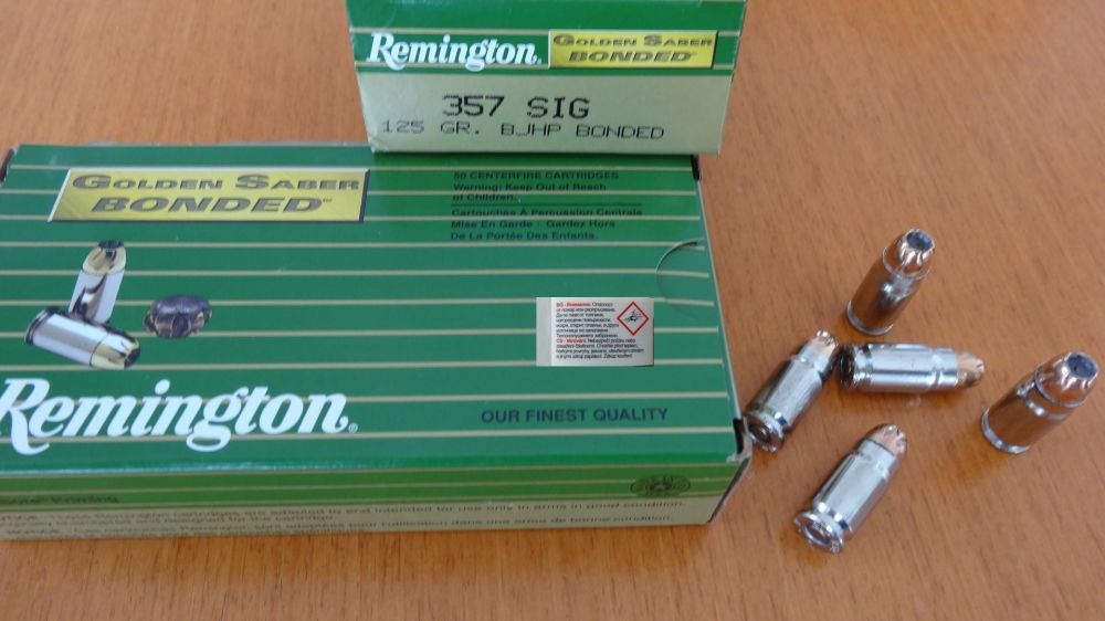 Remington REMINGTON GOLDEN SABER BONDED .357 SIG. 125 GR
