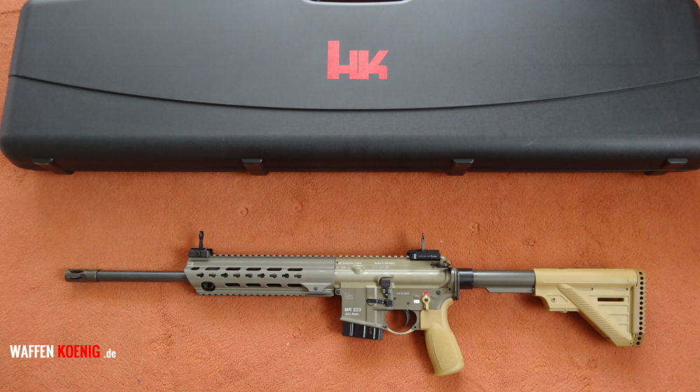 Heckler & Koch Heckler&Koch: SL-Büchse MR 223 A3 -Slim Line in RAL 8000
