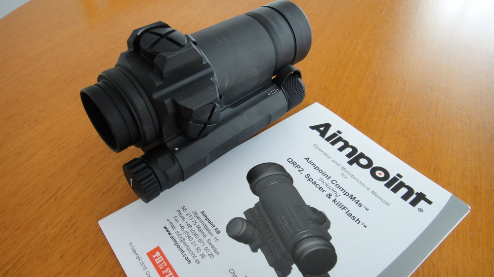 Aimpoint Aimpoint: Comp M 4S mit Montage
