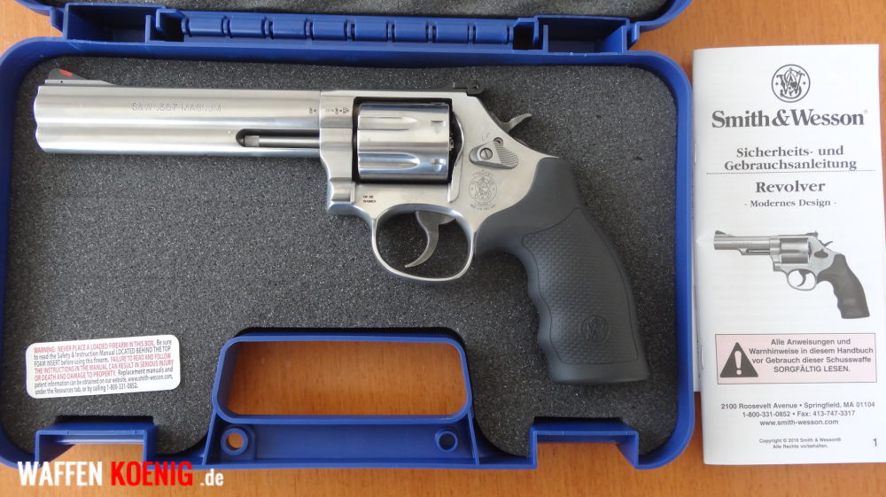 Smith & Wesson Smith & Wesson Revolver: Mod. 686 WO Plus 7- Schuss .357 Magnum.