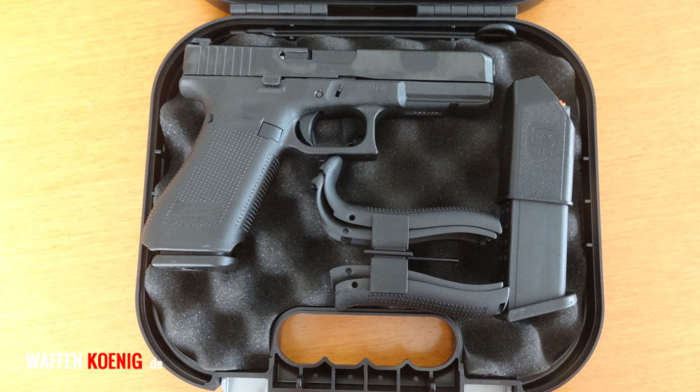 Glock Brandneu: Glock 17 Generation 5 - Cal. 9x19 mm