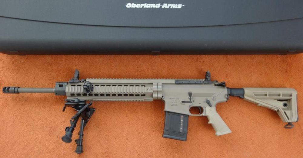 Oberland Arms OA 10 DMR-E SL-Büchse: Oberland Arms OA 10 DMR-E .308 Win in Dark Earth Brown