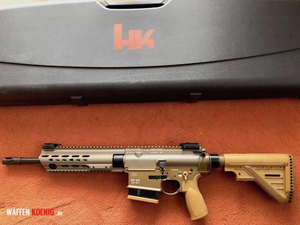 Heckler & Koch HECKLER & KOCH MR308 A3 SLIM-LINE HKEY 13 ZOLL KAL. 308WIN.