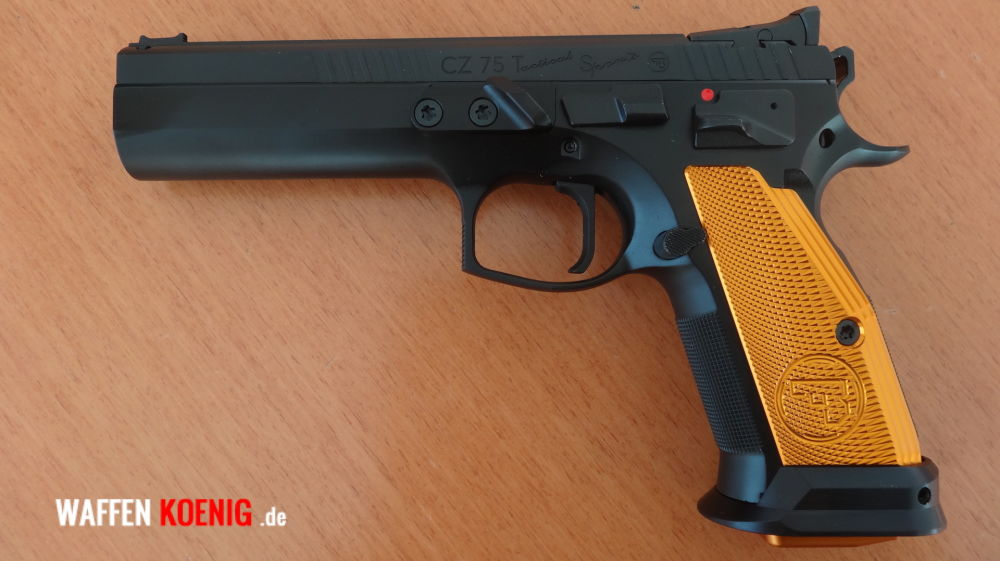 CZ-Brünner PISTOLE CZ 75 TACTICAL SPORTS ORANGE, CAL. 9X19 MM