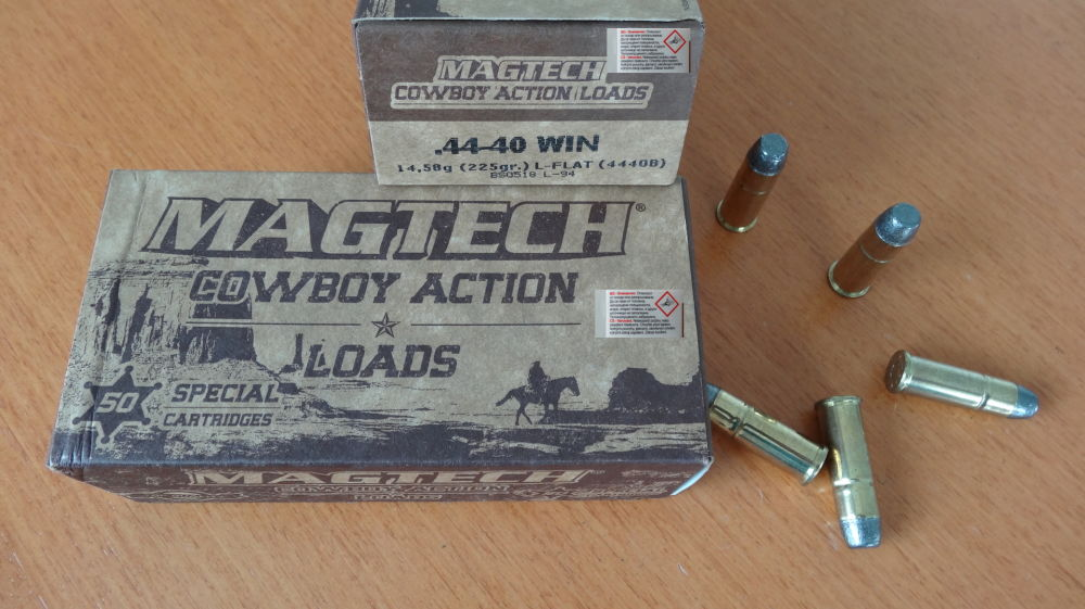Magtech Magtech Cal. 44-40 Win. f. Cowboy Action Shooting