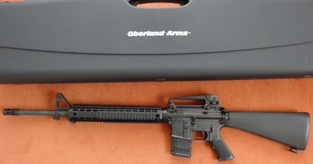 Oberland Arms OA15 Black Label A4-DI (Drop In) Cal. 223 Rem. 3.Gen.