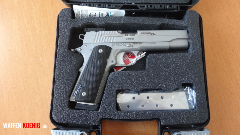 Sig Sauer SL-Pistole:Sig Sauer 1911 Stainless Target Cal. 45 ACP