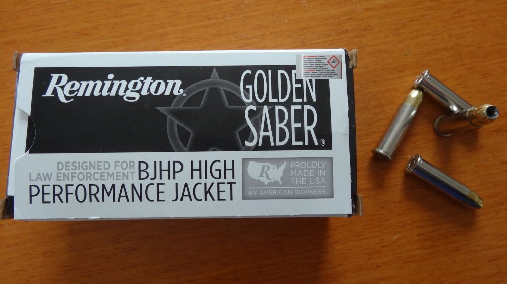 Remington 50 PATRONEN CAL. 38 Special+P -  REMINGTON GOLDEN SABER BONDED HPJ 8,1 G - 125 GRS