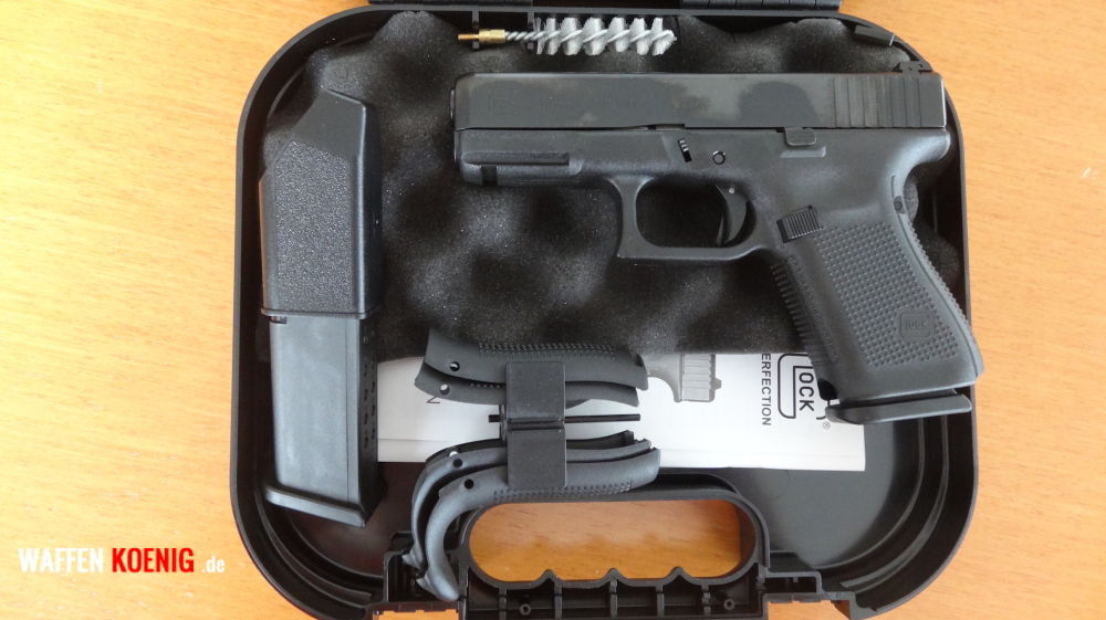 Glock Brandneu: Glock 19 Generation 5 - Cal. 9x19 mm