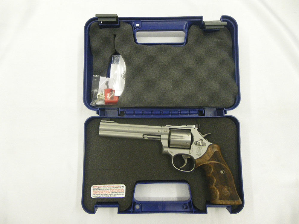 Smith & Wesson 686 Target Champion stainless-matt