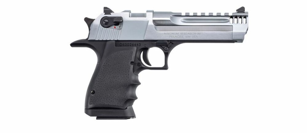"Desert Eagle Magnum Research Desert Eagle L5"" Black-Chrome IMB"