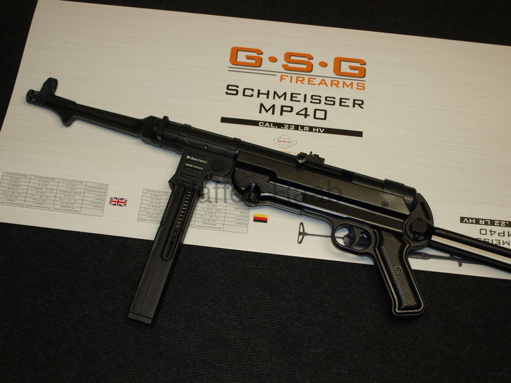 GSG German Sport Guns Schmeisser - MP 40