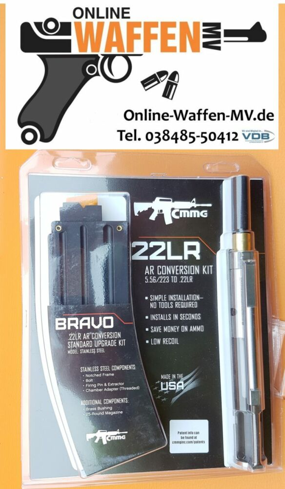 AR-15 CMMG Bravo Conversation Kit . 22lr
