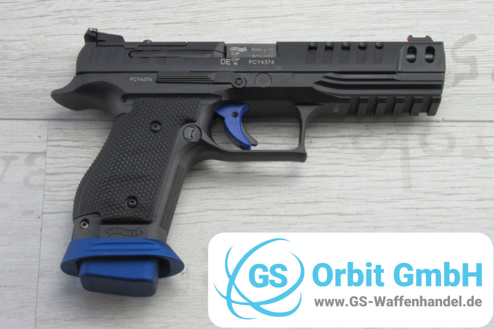 Walther Q5 Match SF Champion Reflexvisier Inkl.