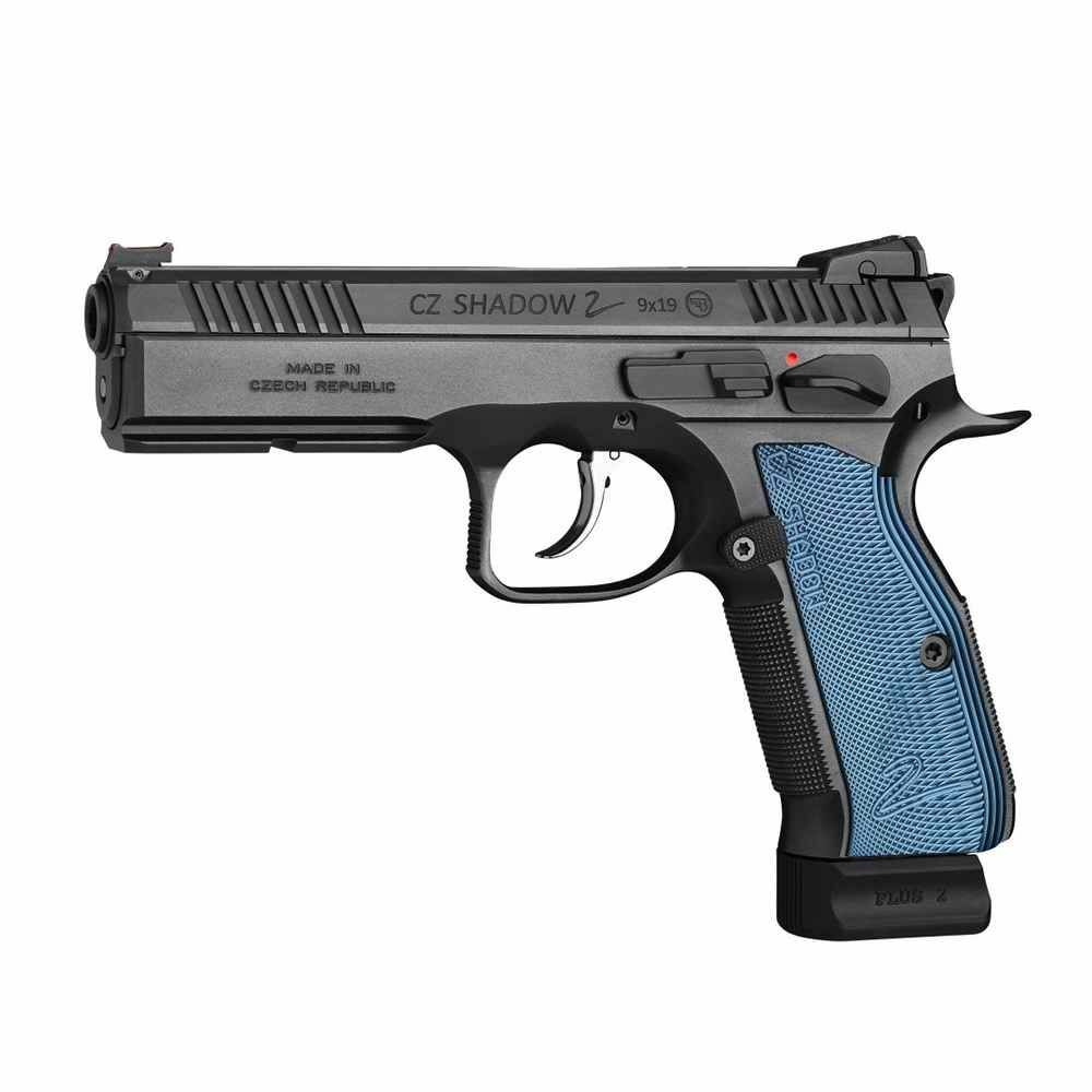 CZ 75 SP-01 Shadow II Blau