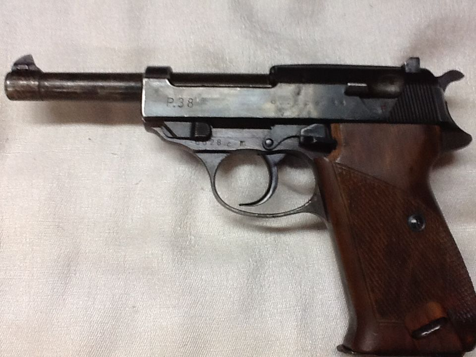 Walther P 38  WK II