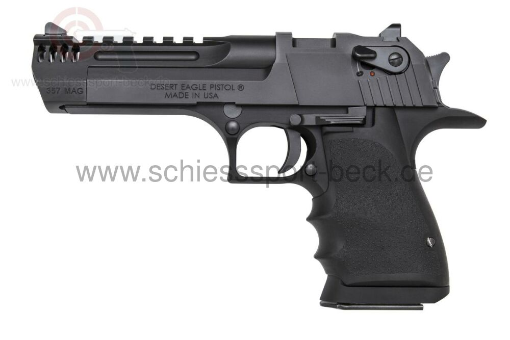 "Magnum Research (USA) Desert Eagle L5"" Black MB Integral .357 Magnum"
