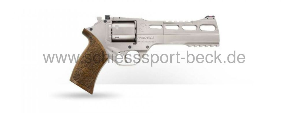 "Chiappa Rhino Revolver 60DS (Nickel Plated) 357MAG/6""BBL"