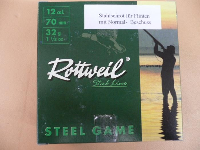 Rottweil Steel Game 12/70