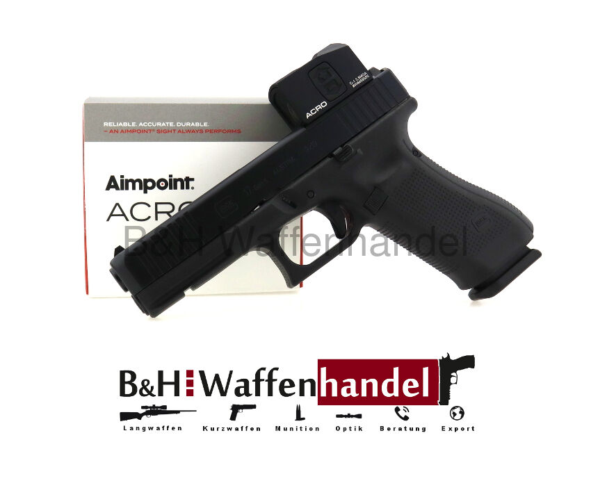 Glock 17 Gen. 5 MOS inkl. Aimpoint Acro