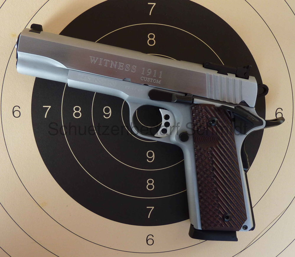 Tanfoglio Witness 1911 Custom