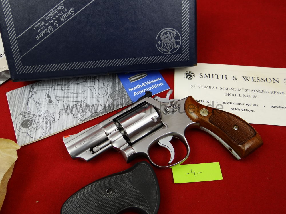 Smith & Wesson Mod. 66, 2,5 Zoll, Snubnose