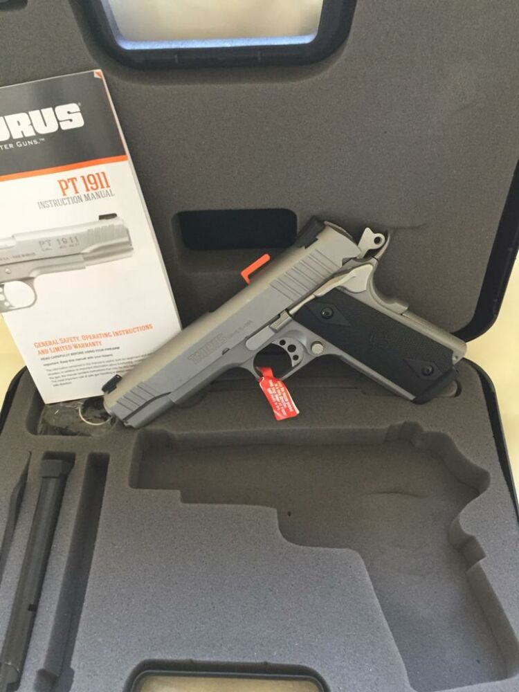 Taurus PT 1911 Stainless Steel matt