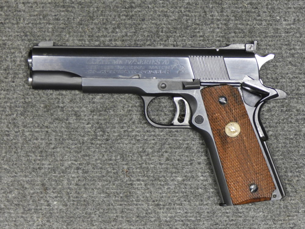 COLT GOLD CUP 1911 NATIONAL MATCH + PETER STAHL WECHSELSYSTEM 10mm AUTO