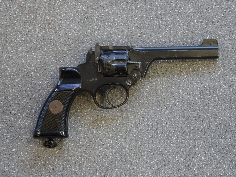 WEBLEY MARK IV 9mm Knall
