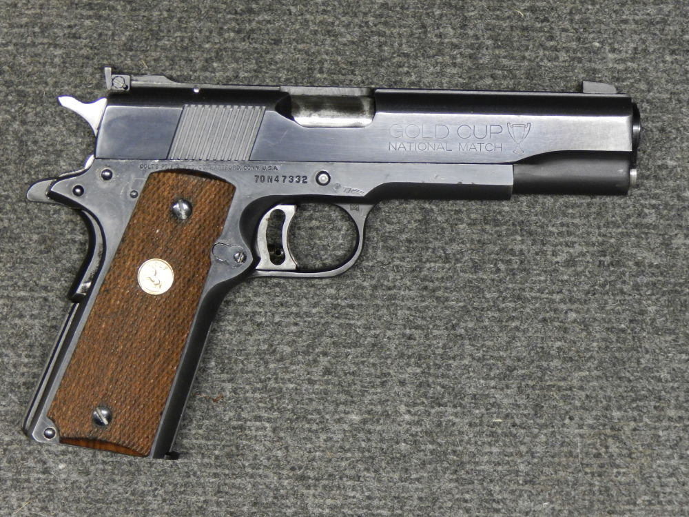 COLT GOLD CUP 1911 MK4 NATIONAL MATCH