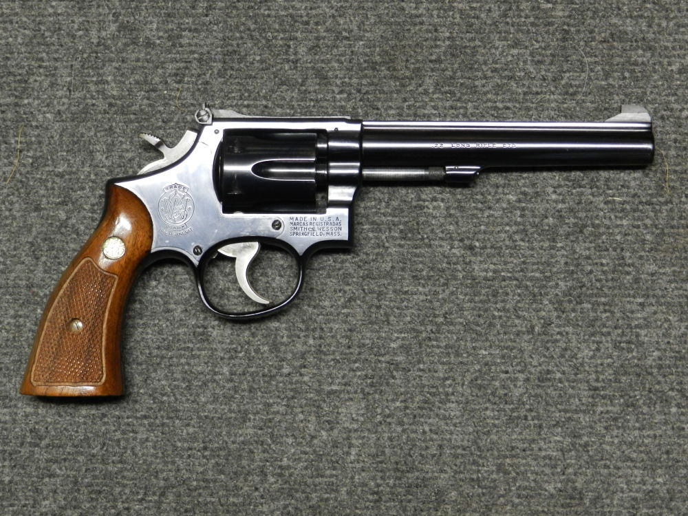 S&W SMITH &WESSON MODEL No. 17 MASTERPIECE