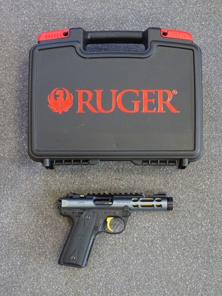NEUHEIT !! RUGER Mark IV 22/45 Lite Diamond Grey-Gold 4,4""