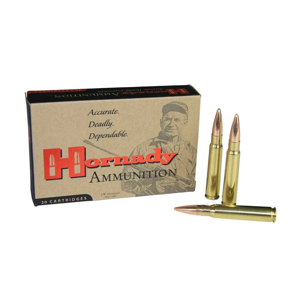 SONDERANGEBOT !! HORNADY 8x57 IS MATCH BTHP 196 grs.