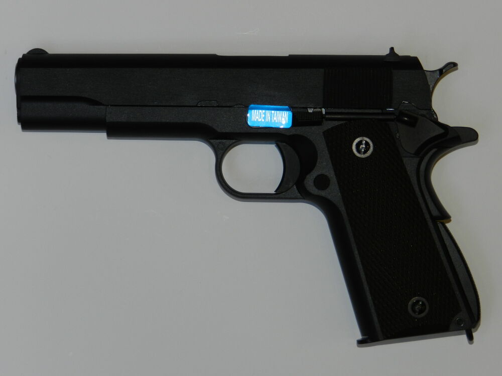 WE GSG GSG Mod. 1911 Vollmetall Gas Blow-Back