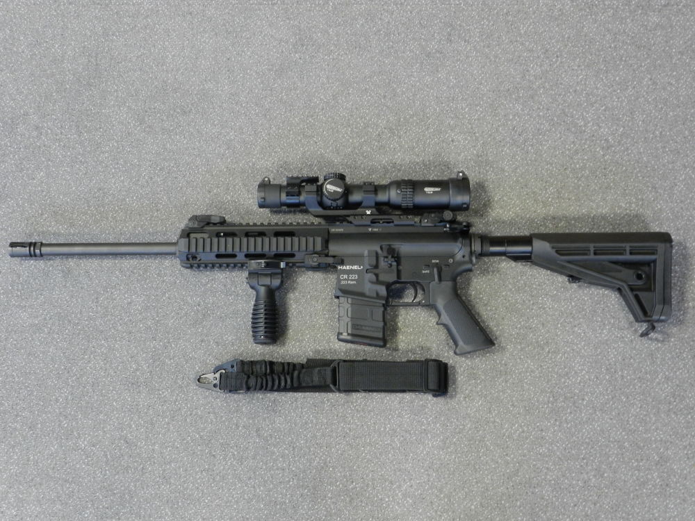 HAENEL + VORTEX CR 223 + STRIKE EAGLE 1-6x24
